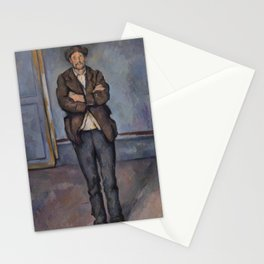 Peasant Standing with Arms Crossed Stationery Cards