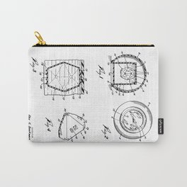 Magic Eight-Ball Patent Carry-All Pouch