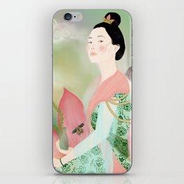 guan yin, goddess of mercy iPhone Skin