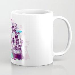 Human skull glitch Coffee Mug