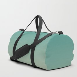 Teal and Angelskin Coral Tropical Paradise Island Hawaiian Beach Duffle Bag