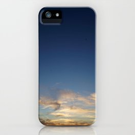 Orbs at Sunset iPhone Case