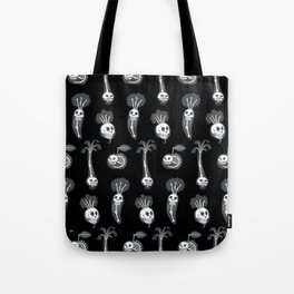 X-rays vegetables (black background) Tote Bag