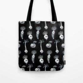 X-rays vegetables (black background) Tote Bag