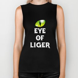 Eye Of The Liger Biker Tank