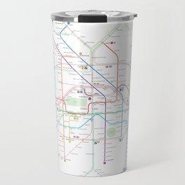 Germany Berlin Metro Bus U-bahn S-bahn map Travel Mug