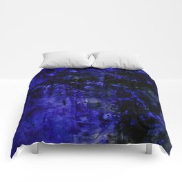 Voices Of The Night No.1b by Kathy Morton Stanion Comforters