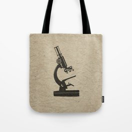 Old Light Microscope Tote Bag