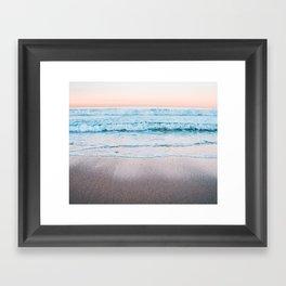 Ocean pastel Mood Framed Art Print