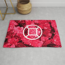 Ruby Candy Gem Rug