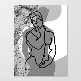 NOODDOOD Lines 14 Canvas Print