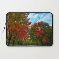 red and blue Laptop Sleeve