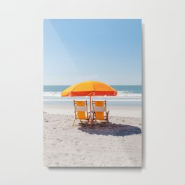 Folly Beach II Metal Print