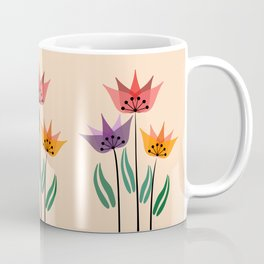 Retro tulips Coffee Mug