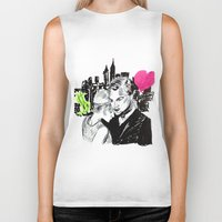 the great gatsby Biker Tanks featuring the Great Gatsby by Ksuhappy