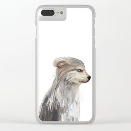 littlest wolf Clear iPhone Case