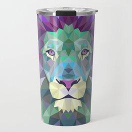 lion wild Travel Mug