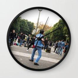 Yoyogi Rockers Wall Clock