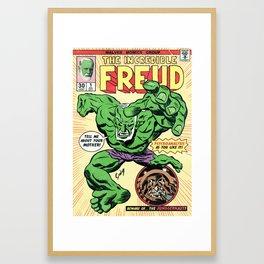 The Incredible Freud Framed Art Print