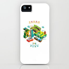 Phnom  Penh iPhone Case