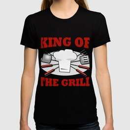 King of the Grill Barbeque Grill Chef T-shirt