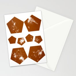Pentagons of May 8 Stationery Cards