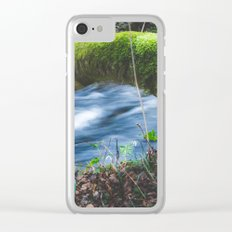 Enchanted magical forest Clear iPhone Case