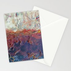 entropic floral dreams Stationery Cards