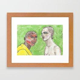 """""""Girl, Look How Orange You F*ckin' Look"""" Framed Art Print"""