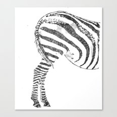 More Ass Than Horse Canvas Print
