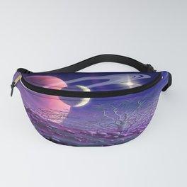 Purple Wind Fanny Pack