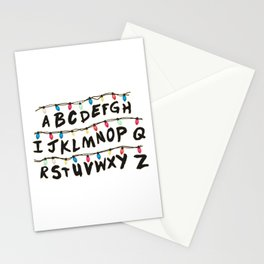 Stranger T - Wall Stationery Cards