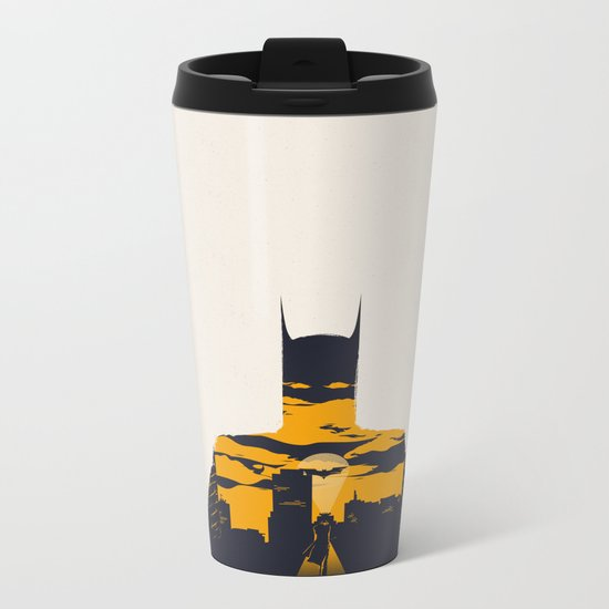 Movie Poster Metal Travel Mug