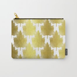 Golden Maple Leaves Carry-All Pouch