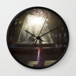 Coyoacan, Mexico City Wall Clock