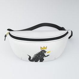 Jean-Michel Basquiat's Crown on Japanese Monster Fanny Pack