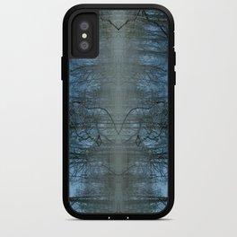 Deep Cool Blue iPhone Case