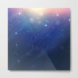 SUNSHINE ON GALAXY Metal Print