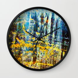Vat - Uncleaned Wall Clock