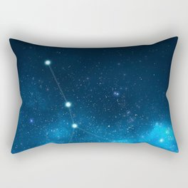 Cancer: Astrological Art Rectangular Pillow