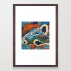 inner sea Framed Art Print