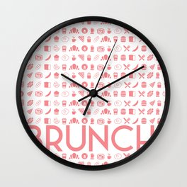BRUNCH! Wall Clock