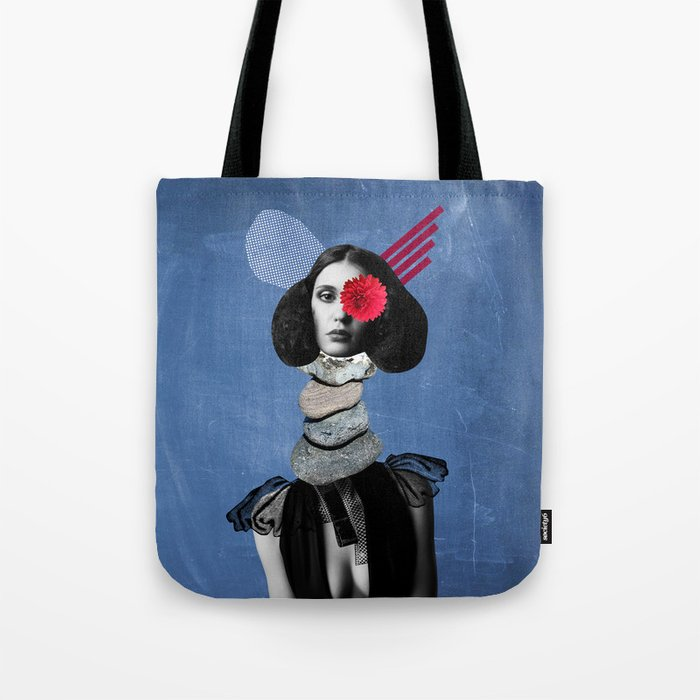 Surrealism, Collage Art Tote Bag