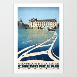 Chenonceau of France Art Print