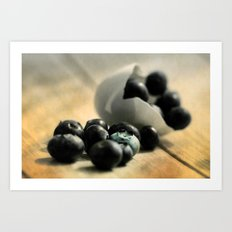 Extravagant Wild Berries  Art Print