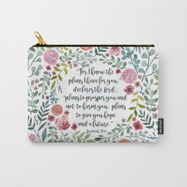 Jeremiah 29:11 Carry-All Pouch