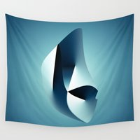 arya Wall Tapestries featuring Paradigm by rodric