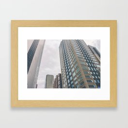 So Small in the City Framed Art Print