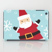 santa iPad Cases featuring Santa by Claire Lordon