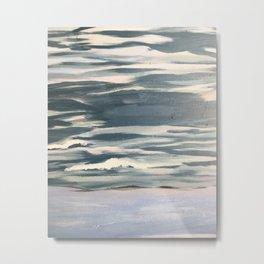 Beach Waves Metal Print